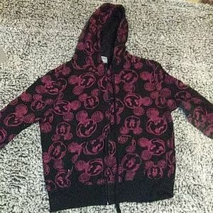 Black And Pink Mickey Mouse Jacket
